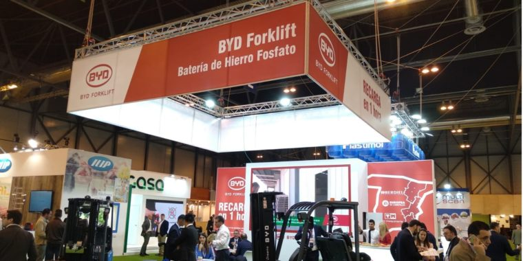 Carretilla litio byd fruit attraction